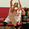 JIM VAIKNORAS/Staff photo Amesbury's Fannery O'Connor shoots against Hamilton-Wenham at Amesbury Friday night.