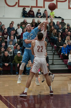 JIM VAIKNORAS/Staff photo  Triton's William Parson makes a pass at Newburyport Friday night.