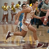 JIM VAIKNORAS/Staff photo Newburyport's Casey McLaren drives to the basket against Triton at Newburyport Friday night.