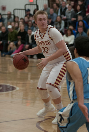 JIM VAIKNORAS/Staff photo Newburyport's Austin Rosseau looks to pass against Triton at Newburyport Friday night.