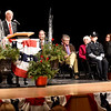 BRYAN EATON/Staff photo. Amesbury Mayor Ken Gray gives his Inaugural Address