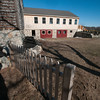 JIM VAIKNORAS/Staff photo  Outside view of the barn at the Bradstreet Farm in Rowley.