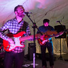 JIM VAIKNORAS/Staff photo The Gallerist perform at the WE=NBPT Festival at the Tannery in Newburyport Saturday.