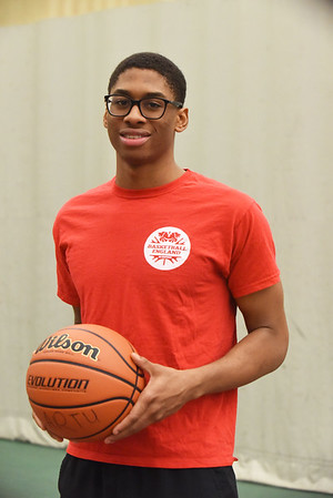 BRYAN EATON/Staff photo. The Governor's Academy's Eljay Morris.