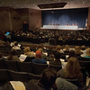 JIM VAIKNORAS/Staff photo About 200 people attend a forum on regional school finance at Triton High School Thursday night.