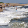 Newbury: People take advantage of the beautiful weather in Plum Island surf Friday afternoon. Jim Vaiknoras/staff photo
