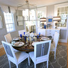 BRYAN EATON/Staff photo. The dining room off the kitchen.