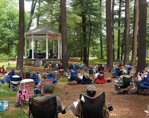 The 1st annual music festival was held in the Amesbury Town Park Saturday.