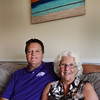 BRYAN EATON/Staff photo. Michael and Diane McCormack in their Salisbury Beach home.