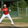 BRYAN EATON/Staff photo. Joshua O'Brien fouls on this swing but walks on the next pitch.