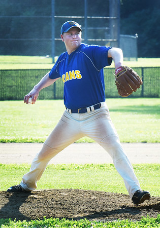 BRYAN EATON/Staff photo. Rams pitcher Tim Moore.