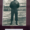 BRYAN EATON/Staff photo. A photo of US Army Sgt. Harold E. Wandover  hangs in Newburyport City Hall along with others who have died in service to the country. Born in Methuen, March 14, 1908, he enlisted in the army in October 1940 and died in action in the Korean Conflict on October 9, 1950.