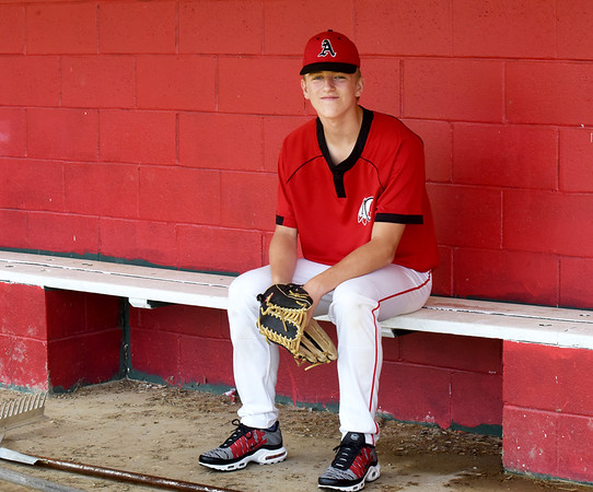 BRYAN EATON/Staff Photo. Trevor Kimball is a rising freshman at Amesbury High who is projected to be a standout baseball, football and basketball player.