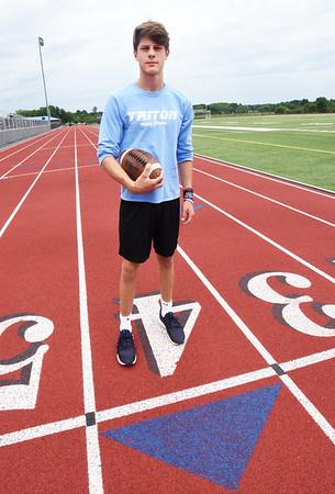 BRYAN EATON/Staff Photo. Chris Colby is a freshman at Triton Regional High School.