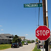 BRYAN EATON/Staff Photo. About a dozen stop signs have been installed on main streets at Seabrook Beach where side streets intersect to slow traffic down.
