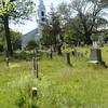 BRYAN EATON/Staff Photo. The First Parish Church of Newbury across the street from the First Parish Cemetery.