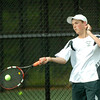 BRYAN EATON/Staff Photo. Pentucket first singles' Connor Aulson.