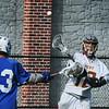 BRYAN EATON/Staff Photo. Newburyport's Ben Peffer finds an open player.