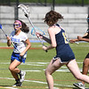 JIM VAIKNORAS/Staff photo Georgetown's Nicoletta Ferrara advances the ball against Marion at Georgetown high Thursday.