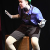 """JIM VAIKNORAS/Staff photo  Katelin Garland of Concord NH as Pinnocchio in the Firehouse production of """"Shrek The Musical""""."""