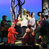 "JIM VAIKNORAS/Staff photo James Turner of Hamilton as Shrek performs with the Fairy Tale Creatures in the Firehouse production of ""Shrek The Musical""."