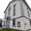 BRYAN EATON/Staff Photo. Congregation Ahava Achim on Washington Street in Newburyport.