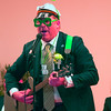 """JIM VAIKNORAS/Staff photo Representative James M. Kelcourse performs his take on the Beatle's song """"Yellow Submarine"""" at the Link House Inc's 15th annual St. Patrick' Day Luncheon at the Masonic Temple in Newburyport Friday."""