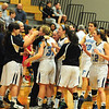 JIM VAIKNORAS/Staff photo Triton celebrates their victory  against Melrose at Triton Tuesday night.