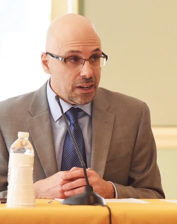 BRYAN EATON/Staff photo. Newburyport schools superintendent candidate Anthony Colannino.