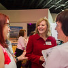 AMANDA SABGA/Staff photo<br /> <br /> Massachusetts Superior Court Judge Sharon Poole Donatelle, a Haverhill native, chats with Denise Arnold and Gretchen Arntz of Emmaus Inc., at the Greater Haverhill Chamber of Commerce's 22nd annual Winning Opportunities for Women conference at Blue Ocean Music Hall in Salisbury. <br /> <br /> 3/30/17