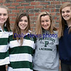 BRYAN EATON/Staff photo. From left, Saige Tudisco, Belle Smith, Madi Krohto and Ellison Seymour.