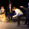 "JIM VAIKNORAS/Staff photo Paul Wann as Pozzo, Jason Novak as Estragon, Jonas Ruzek as Boy and Stephen Faria as Vladimir in a production of ""Waiting for Godot""."
