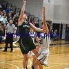 JIM VAIKNORAS/Staff photo Pentucket's Angelina Yacabucci scores against Foxboro at Woburn high Wednesday night.