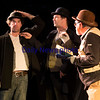 "JIM VAIKNORAS/Staff photo , Jason Novak as Estragon, Stephen Faria as Vladimir and Paul Wann as Pozzoin in a production of ""Waiting for Godot""."