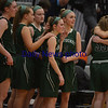 JIM VAIKNORAS/Staff photo Pentucket girls react to heir loss to Foxboro at Woburn high Wednesday night.