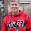 BRYAN EATON/Staff photo. Roger Pierce is a 73-year-old Rowley resident who also happens to be one of the top Masters sprinters in the world at his age group. He and a team of other 70+ year old guys recently set the World Record in the 4x400 relay for over-70 down in New York.