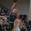 JIM VAIKNORAS/Staff photo Pentucket's Maddie Doyle with a jumper in the lane against Foxboro at Woburn high Wednesday night.