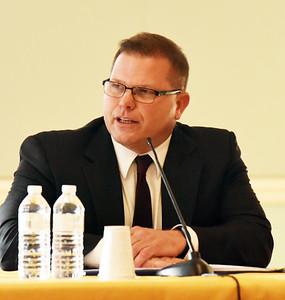 BRYAN EATON/Staff photo. Newburyport Schools superindent candidate Sean Gallagher.