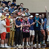 CARL RUSSO/staff photo. Pentucket fans. Pentucket vs. Swampscott girls basketball in the Division 2 North semifinals. 3/5/2019
