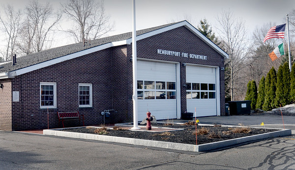 BRYAN EATON/Staff photo. Newburyport Fire Department's west end station on Storey Avenue.