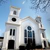 BRYAN EATON/Staff Photo. Belleville Congregational Church on High Street.
