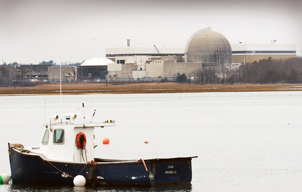 BRYAN EATON/Staff photo. The NextEra Energy Seabrook Station nuclear power plant overlooks Seabrook Harbor.