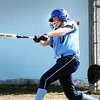 BRYAN EATON/Staff Photo. Triton's Emma McGonagle connected with the b all for a double.