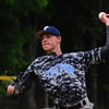 JIM VAIKNORAS/Staff photo Triton's David Leavitt pitches against  Pentucket  in the championship game at the Spofford Tournement in Georgetown Sunday.