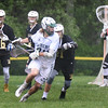BRYAN EATON/Staff photo. Pentucket's Liam Sheehy looks for an open teammate.