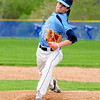 JIM VAIKNORAS/staff photo Triton's Andrew Maiuri pitches against Amesbury at Triton Sunday.
