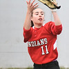 BRYAN EATON/Staff photo. Amesbury outfielder Emma DiPietro catches a popup.