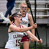 BRYAN EATON/Staff photo. Newburyport midfielder Cescily Wheeler fires down field to an open teammate.