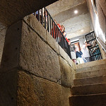 BRYAN EATON/Staff photo. Newburyport Preservation Trust held a fundraiser at the old Newburyport Jail (Gaol) on Friday night. The open house at the privately-owned building was part of Prese ...
