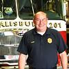BRYAN EATON/Staff photo. Salisbury fire chief Richard Souliotis is retiring.